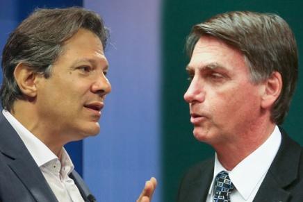 Il Brasile al bivio: domenica il ballottaggio tra Bolsonaro eHaddad