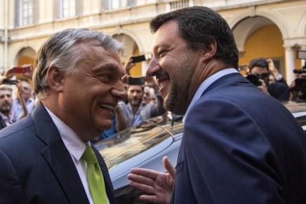 La ballata dei sovranisti fasulli: Salvini, Orbán,Bolsonaro…