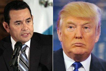 Guatemala: l'ultimo regalo di Jimmy Morales agli StatiUniti