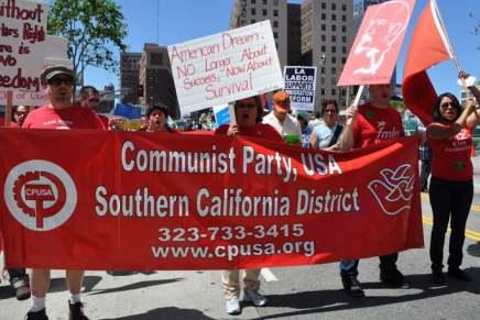 Il Partito Comunista degli Stati Uniti contro il razzismo di DonaldTrump