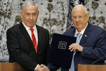 Israele: il presidente Rivlin tiene in vitaNetanyahu