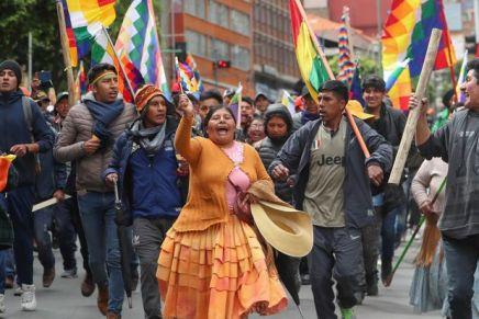 Bolivia: contro il golpe, con ilpopolo