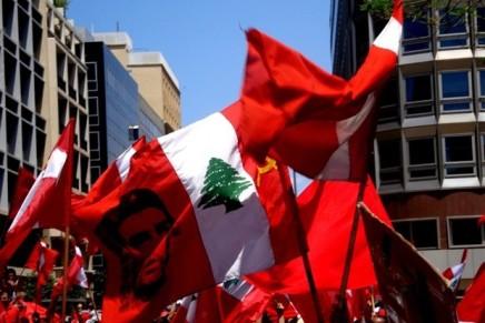 Libano: il Partito Comunista sostiene le protestepopolari