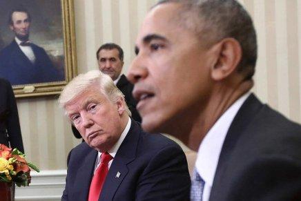 Gli attacchi velati di Obama e i contrattacchi spregiudicati diTrump