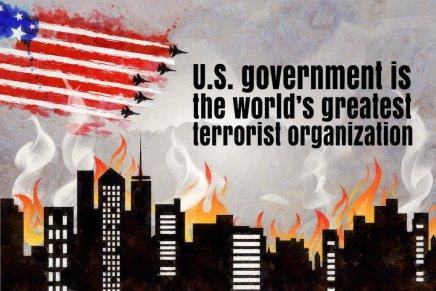 Gli Stati Uniti sono i maggiori terroristimondiali
