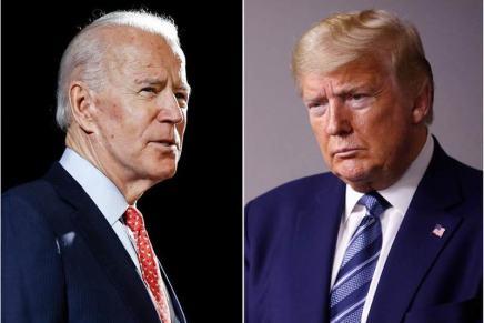 Biden presidenziale; Trump candidatounderdog