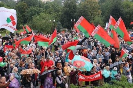Contro le ingerenze straniere inBielorussia