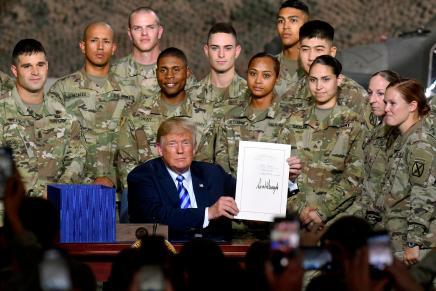 USA: il disamore di Trump per le forzearmate