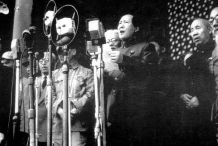 """Mao Zedong: """"Proclamazione del governo popolare centrale della Repubblica Popolare Cinese"""" (1° ottobre1949)"""