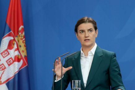 Serbia: secondo mandato alla guida del governo per AnaBrnabić