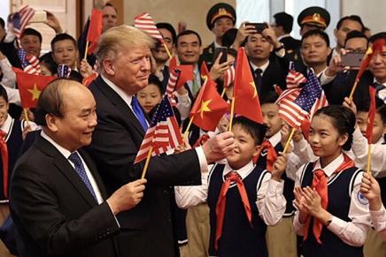 Gli Stati Uniti perdono terreno in Asiaorientale