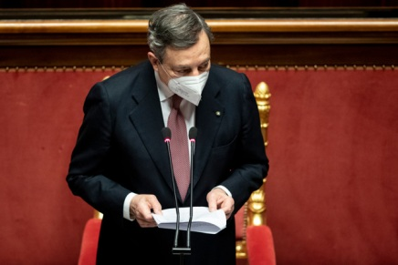 """Draghi chiarissimo: """"Sostenere questo governo significa condividere l'irreversibilità dell'euro"""""""