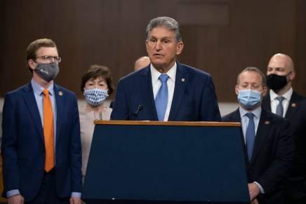 Il conservatore Manchin: ponte di Biden al Senato coirepubblicani?