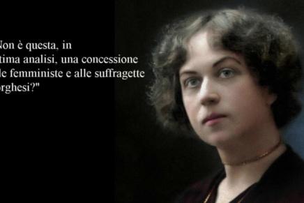 "Aleksandra Kollontaj: ""La Giornata della Donna""(1913)"