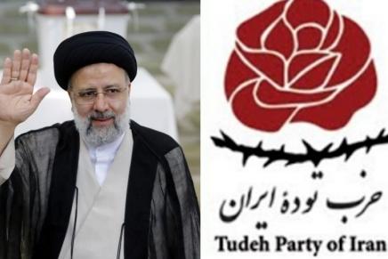 I comunisti iraniani respingono l'elezione di EbrahimRaisi