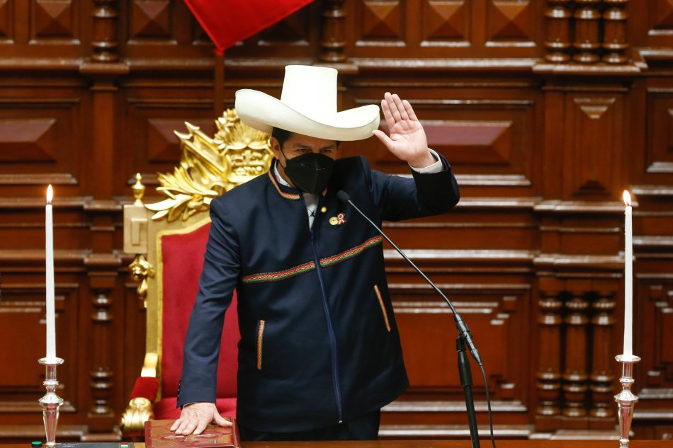 Perù: il mandato di Pedro Castillo inizia nel giorno dell'indipendenza nazionale
