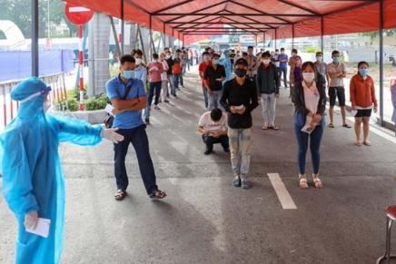 Hồ Chí Minh City nuovo epicentro della pandemia inVietnam