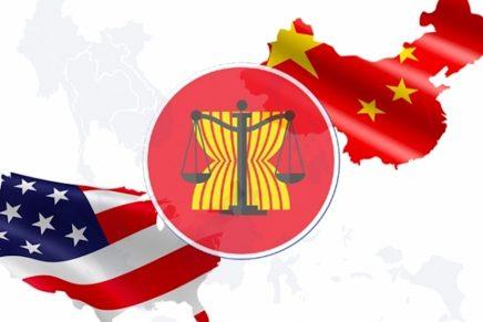 La partita tra Cina e Stati Uniti si gioca nell'Asiasud-orientale