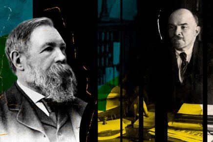 Vladimir Lenin, in memoria di Friedrich Engels(1895)