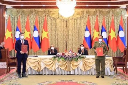 Vietnam e Laos rafforzano ancora la propriaunione