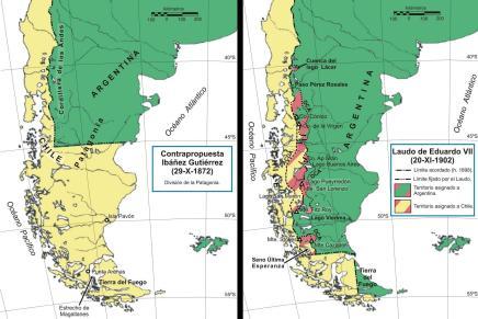 Le dispute tra Cile e Argentina lungo il confinemeridionale