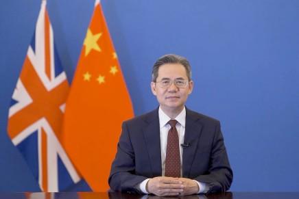 L'ambasciatore Zheng Zeguang risponde alla stampa sulla questione degli uiguri delloXinjiang