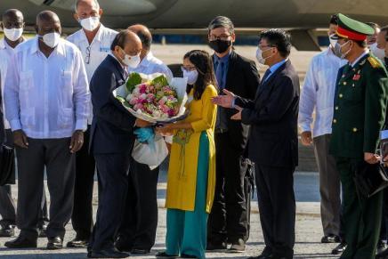 Il presidente vietnamita Nguyễn Xuân Phúc in visita aCuba