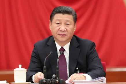 """Xi Jinping: """"Rimanere connessi col mondo mondo e al passo con i tempi e fare grandi passi avanti sulla via dello svilupposostenibile"""""""