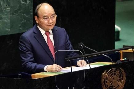 Il discorso del presidente Nguyễn Xuân Phúc all'Assemblea generale delle NazioniUnite